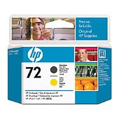 Hewlett Packard HP C9384A ( HP 72 Matte Black/Yellow Printhead ) InkJet Cartridge Printhead