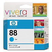 Hewlett Packard HP C9386AN ( HP 88 cyan ) InkJet Cartridge
