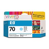 Hewlett Packard HP C9390A ( HP 70 Light Cyan ) InkJet Cartridge