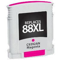 Hewlett Packard HP C9392AN / HP 88XL Magenta Replacement InkJet Cartridge