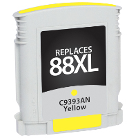 Hewlett Packard HP C9393AN / HP 88XL Yellow Replacement InkJet Cartridge