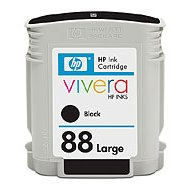 Hewlett Packard HP C9396AN ( HP 88XL Black ) InkJet Cartridge