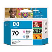 Hewlett Packard HP C9405A ( HP 70 Light Magenta/Light Cyan Printhead ) InkJet Printhead