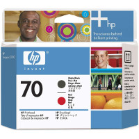 Hewlett Packard HP C9409A ( HP 70 Matte Black/Red Printhead ) Printhead InkJet Cartridge