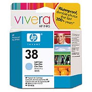 Hewlett Packard HP C9418A ( HP 38 light cyan ) InkJet Print Cartridge