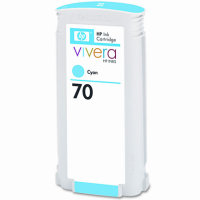 Hewlett Packard HP C9452A ( HP 70 Cyan ) InkJet Cartridge