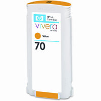 Hewlett Packard HP C9454A ( HP 70 Yellow ) InkJet Cartridge