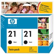 Hewlett Packard HP C9508FN ( HP 21 ) InkJet Cartridge Twin Pack