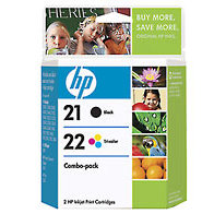 Hewlett Packard HP C9509FN ( HP 21/22 ) InkJet Cartridge Combo Pack