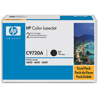 Hewlett Packard HP C9720AD Laser Toner Cartridge Dual Pack