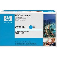 Hewlett Packard HP C9721A Cyan Laser Toner Cartridge