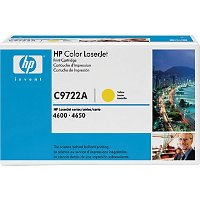 Hewlett Packard HP C9722A Yellow laser toner cartridge