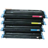 Compatible HP C9720A / C9721A / C9722A / C9723A Laser Toner Cartridge MultiPack