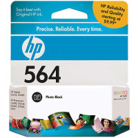 Hewlett Packard HP CB317WN ( HP 564 Photo Black ) InkJet Cartridge