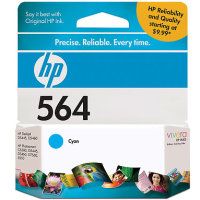Hewlett Packard HP CB318WN ( HP 564 Cyan ) InkJet Cartridge