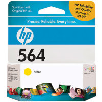 Hewlett Packard HP CB320WN ( HP 564 Yellow ) InkJet Cartridge