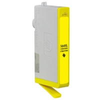 Hewlett Packard HP CB325WN / HP 564XL Yellow Replacement InkJet Cartridge