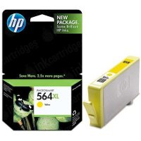 Hewlett Packard HP CB325WN ( HP 564XL Yellow ) InkJet Cartridge