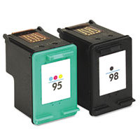Hewlett Packard HP CB327FN ( HP 95/98 ) Remanufactured InkJet Cartridge Combo Pack
