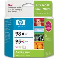 Hewlett Packard HP CB327FN ( HP 95/98 ) InkJet Cartridge Combo Pack