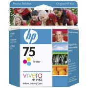Hewlett Packard HP CB337WN ( HP 75 ) InkJet Cartridge