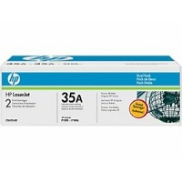 Hewlett Packard HP CB435AD ( HP 35A ) Laser Toner Cartridge Dual Pack