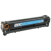 Service Shield Brother CB541A Cyan Replacement Laser Toner Cartridge by Clover Technologies