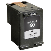 Hewlett Packard HP CC640WN / HP 60 Black Replacement InkJet Cartridge