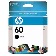 Hewlett Packard HP CC640WN ( HP 60 Black ) InkJet Cartridge