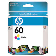 Hewlett Packard HP CC643WN ( HP 60 Tri-color ) InkJet Cartridge