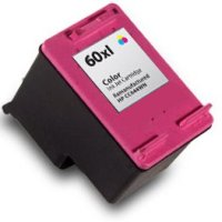 Hewlett Packard HP CC644WN ( HP 60XL Tri-color ) Remanufactured InkJet Cartridge