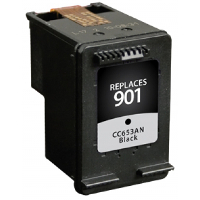 Hewlett Packard HP CC653AN / HP 901 Black Replacement InkJet Cartridge