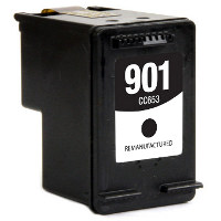 Hewlett Packard HP CC653AN ( HP 901 Black ) Remanufactured InkJet Cartridge