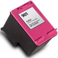 Hewlett Packard HP CC656AN ( HP 901 Tri-color ) Remanufactured InkJet Cartridge