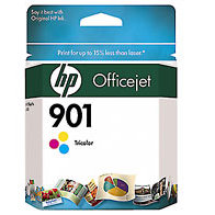 Hewlett Packard HP CC656AN ( HP 901 Tri-color ) InkJet Cartridge