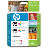 Hewlett Packard HP CD886FN ( HP 95 Twinpack ) InkJet Cartridge Twinpack