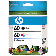 Hewlett Packard HP CD947FN ( HP 60 ) InkJet Cartridge Combo Pack