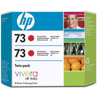 Hewlett Packard HP CD952A ( HP 73 Red Twin Pack ) InkJet Cartridge Twin Pack