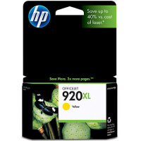 Hewlett Packard HP CD974AN ( HP 920XL Yellow ) InkJet Cartridge