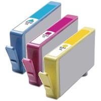 Hewlett Packard HP CD972AN / CD973AN / CD974AN ( HP 920XL ) Remanufactured InkJet Cartridge Set