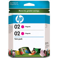 Hewlett Packard HP CD997FN ( HP 02 magenta ) InkJet Cartridge Twin Pack
