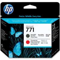 Hewlett Packard HP CE017A ( HP 771 Matte Black/Red ) InkJet Printhead