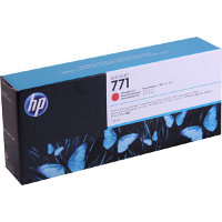 Hewlett Packard HP CE038A ( HP 771 Chromatic Red ) InkJet Cartridge