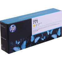 Hewlett Packard HP CE040A ( HP 771 Yellow ) InkJet Cartridge