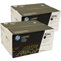 Hewlett Packard HP CE250XD Laser Toner Cartridge Twin Pack