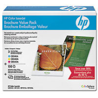 Hewlett Packard HP CE256A Laser Toner Cartridge / Brochure Value Pack