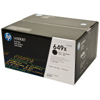 Hewlett Packard HP CE260XD ( HP 649X black ) Laser Toner Cartridge Dual Pack