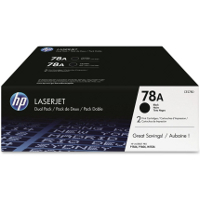Hewlett Packard HP CE278D ( HP 78A Twin Pack ) Laser Toner Cartridges