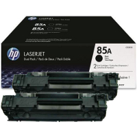 Hewlett Packard HP CE285D ( HP 85A Twin Pack ) Laser Toner Cartridges