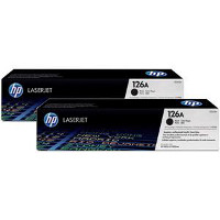 Hewlett Packard HP CE310AD ( HP 126A Dual Pack ) Laser Toner Cartridge Dual Pack